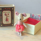 Little Ella James Baby Mouse In Matchbox