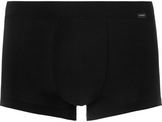 Hanro Stretch Lyocell And Cotton-Blend Boxer Briefs