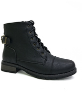 Bamboo Black Smooth Battle Boot