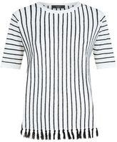 Max Mara Belgica Tassel Trim T-Shirt