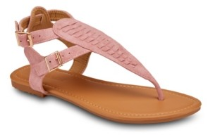 OLIVIA MILLER Brava Buckle Strap Sandals Women's Shoes