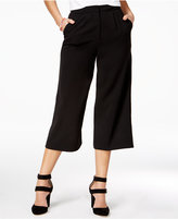 The Edit By Seventeen Juniors' Crepe Gaucho Pants, Only at Macy's