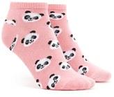 Forever 21 FOREVER 21+ Panda Print Ankle Socks