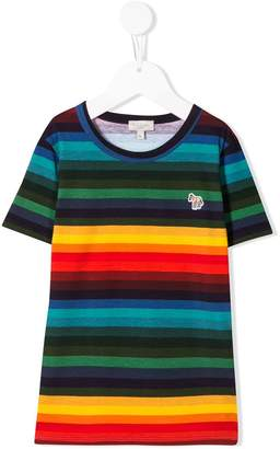 Paul Smith striped short-sleeve top