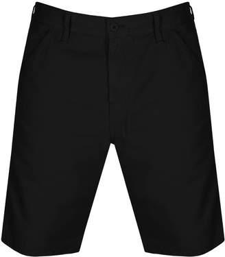 Carhartt Chalk Shorts Black