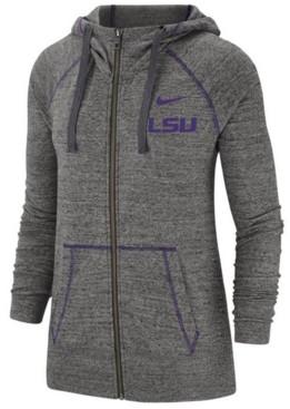 Nike Women's Lsu Tigers Gym Vintage Full-Zip Jacket