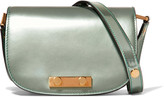 Marni Metallic leather shoulder bag