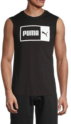 Puma Logo Cotton Tank