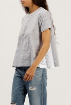 Azalea Rieve Side Lace S/S Top