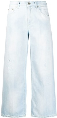 Dondup High-Waisted Cropped Jeans