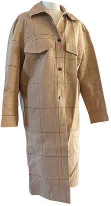 By Malene Birger Beige Cotton Coats