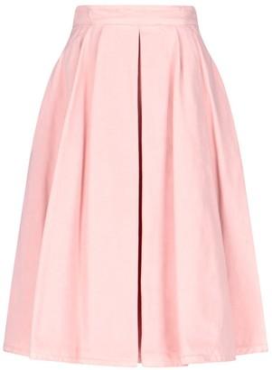 Prada A-Line Denim Skirt