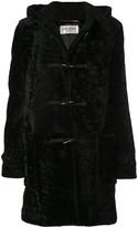 Saint Laurent shearling duffle coat