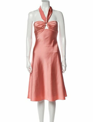 Jonathan Simkhai 2019 Knee-Length Dress w/ Tags Pink