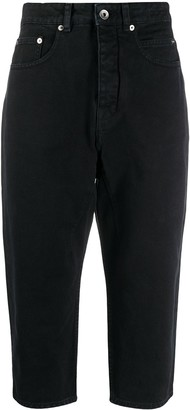 Rick Owens Donero cropped jeans