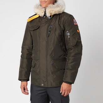 Parajumpers Men's Right Hand Fur Hooded Parka