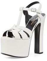 Saint Laurent Betty Tribute Mega-Platform Sandal