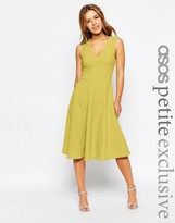 Asos Midi Dress in Texture