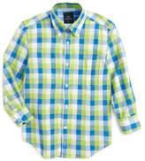 Tailorbyrd Check Dress Shirt (Big Boys)