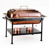 Old Dutch 8-qt. Rectangular Antiqued Copper Chafing Dish