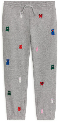 Arket Monster Embroidery Sweatpants