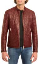Stefano Ricci Tiled Calf Leather Jacket