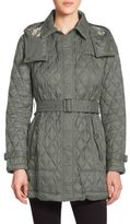 Burberry Belted Quilted Jacket