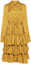 Martin Grant Ruffled Shirt Dress