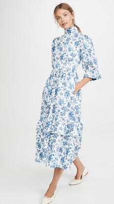 Meadows Clematis Dress