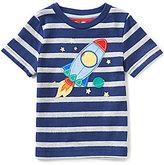 Class Club Adventure Wear by Little Boys 2T-6 Spaceship Applique Short-Sleeve Tee