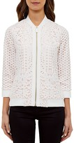 Ted Baker Lace Bomber Jacket