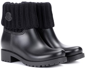 Moncler Ginette rubber boots