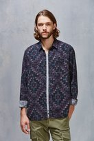 Urban Outfitters Stapleford Roan Printed Flannel Button-Down Shirt