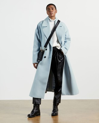 Ted Baker Double Breasted Longline Coat