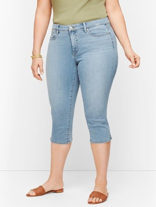 Talbots Plus Size Exclusive Pedal Pusher Jeans - Sunnyside Wash