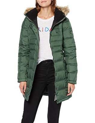 Superdry Women's Mountain Super Fuji Jacket, (Ice Green E), 8 (Size: X-Small)