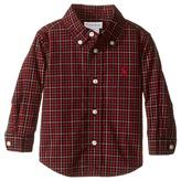 Ralph Lauren Poplin Long Sleeve Button Down Shirt Boy's T Shirt