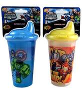 Marvel Super Hero Squad Sipper Sippy Cup 10 oz Set of 2
