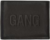 Neil Barrett Black Embossed Gang Bifold Wallet