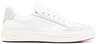 Salvatore Ferragamo Low-Top Lace-Up Sneakers