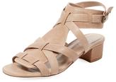 Delman Moxie Leather Sandal