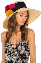 Eugenia Kim Mirasol Hat in Tan.