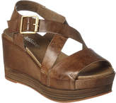 Antelope 883 Leather Wedge Sandal