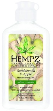 Hempz Fresh Fusions Sandalwood & Apple Herbal Shave Gel, 6-oz, from Purebeauty Salon & Spa