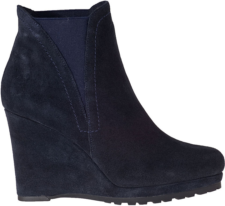 VANELi FOR JILDOR Jamilla Wedge Boot Black Suede