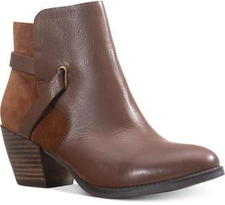 American Rag Ashlyn Leather Leather Booties, Women Shoes