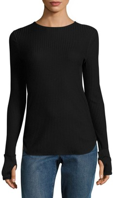 Helmut Lang Rib-Knit Cotton Top