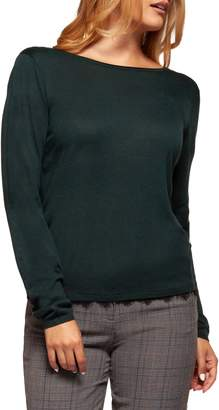 Dex Lace-Trimmed Long-Sleeve Top