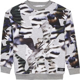 Molo Monte camouflage print cotton sweatshirt 4-14 years