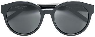 Saint Laurent Eyewear Round Monogram Sunglasses